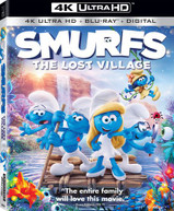 SMURFS: THE LOST VILLAGE 4K BLURAY