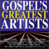 GOSPEL'S GREATEST ARTIST / VARIOUS CD