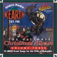 ULT CHRISTMAS ALBUM 3: K EARTH 101 FM LOS ANGELES CD