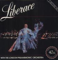 LIBERACE &  LONDON PHILHARMONIC - 40TH ANNIVERSARY VINYL