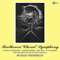 BEETHOVEN /  BAYREUTH / FURTWAENGLER - SYMPHONY NO 9 VINYL