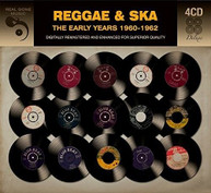 REGGAE &  SKA: EARLY YEARS 1960 -1962 / VARIOUS CD