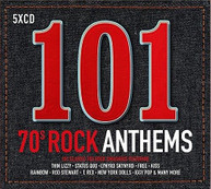 101 70S ROCK ANTHEMS / VARIOUS CD