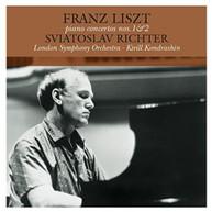 FRANZ LISZT - PIANO CONCERTOS 1 & 2 VINYL