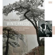 SCHUBERT /  GERALD MOORE - SCHUBERT: WINTERREISE / DIETRICH FISCHER VINYL