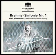BRAHMS /  KONWITSCHNY - BRAHMS: SYMPHONY NO 1 VINYL