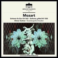 MOZART /  SUITNER / DRESDEN - MOZART: SYMPHONIES KV543 & KV550 VINYL