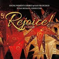 YOUNG WOMEN'S CHORUS OF SAN FRANCISCO - REJOICE CD