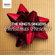 KINGS SINGERS / NATIONAL YOUTH CHOIR OF GREAT - CHRISTMAS PRESENCE: CD
