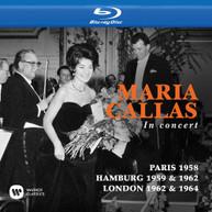 MARIA CALLAS - CALLAS TOUJOURS PARIS 1958 / IN CONCERT HAMBURG BLURAY