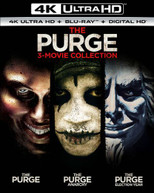 PURGE: 3 -MOVIE COLLECTION 4K BLURAY