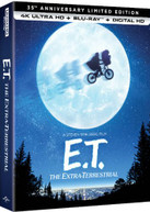 ET THE EXTRA -TERRESTRIAL - 35TH ANNIVERSARY ED 4K BLURAY