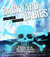 BACKYARD BABIES - LIVE AT CIRKUS BLURAY