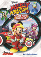 MICKEY & THE ROADSTER RACERS: START YOUR ENGINES DVD