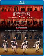 MOZART /  BACHCHOR / MINKOWSKI - REQUIEM BLURAY
