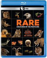 RARE: CREATURES OF THE PHOTO ARK BLURAY