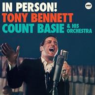 TONY BENNETT - IN PERSON + 1 BONUS TRACK VINYL