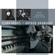 MOZART / CLARA / GRUMIAUX HASKIL - MOZART: SONATAS FOR PIANO & VIOLIN VINYL