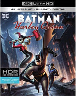 DCU: BATMAN & HARLEY QUINN 4K BLURAY