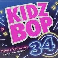 KIDZ BOP KIDS - KIDZ BOP 34 (TG) CD
