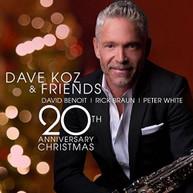 DAVE KOZ - DAVE KOZ & FRIENDS 20TH ANNIVERSARY CHRISTMAS CD