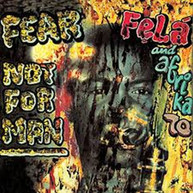 FELA KUTI - FEAR NOT FOR MAN * VINYL