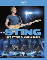 STING - LIVE AT THE OLYMPIA PARIS BLURAY