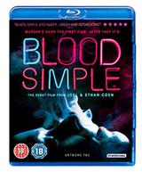 BLOOD SIMPLE [UK] BLU-RAY