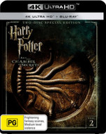 HARRY POTTER AND THE CHAMBER OF SECRETS (4K UHD/BLU-RAY) (2002)  [BLURAY]