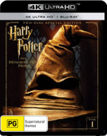 HARRY POTTER AND THE PHILOSOPHER'S STONE (4K UHD/BLU-RAY) (2001)  [BLURAY]