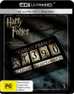 HARRY POTTER AND THE PRISONER OF AZKABAN (4K UHD/BLU-RAY) (2004)  [BLURAY]