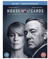 HOUSE OF CARDS SEASON 1 - 5 [UK] BLU-RAY