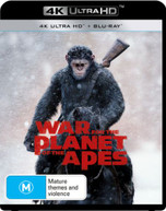 WAR FOR THE PLANET OF THE APES (4K UHD/BLU-RAY/DIGITAL HD) (2017)  [BLURAY]