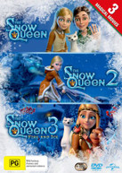3 MAGICAL MOVIES: THE SNOW QUEEN / THE SNOW QUEEN 2: THE SNOW KING / THE [DVD]