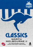 AFL CLASSICS: NORTH MELBOURNE II (2017)  [DVD]