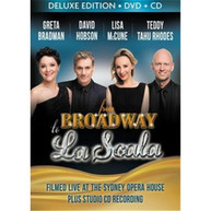 GRETA BRADMAN, LISA MCCUNE, DAVID HOBSON, TEDDY TAHU RHODES - FROM BROADWAY TO LA SCALA (CD/DVD) * CD