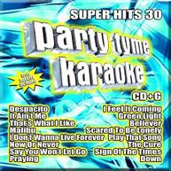 PARTY TYME KARAOKE: SUPER HITS 30 / VARIOUS CD