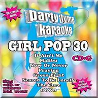 PARTY TYME KARAOKE: GIRL POP 30 / VARIOUS CD