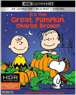 IT'S THE GREAT PUMPKIN CHARLIE BROWN 4K BLURAY