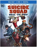 DCU: SUICIDE SQUAD - HELL TO PAY BLURAY