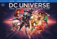 DC UNIVERSE 10TH ANNIVERSARY COLLECTION BLURAY