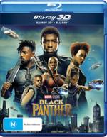 BLACK PANTHER (2018) (3D BLU-RAY/BLU-RAY) (2017)  [BLURAY]
