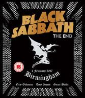 BLACK SABBATH - END: BIRMINGHAM - 4 FEBRUARY 2017 BLURAY