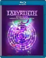 LABYRINTH - RETURN TO LIVE BLURAY