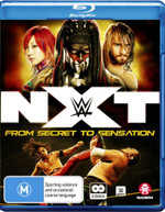 WWE: NXT - FROM SECRET TO SENSATION (2017)  [BLURAY]