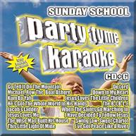 PARTY TYME KARAOKE: SUNDAY SCHOOL / VARIOUS CD