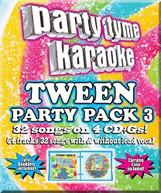 PARTY TYME KARAOKE: TWEEN PARTY PACK 3 / VARIOUS CD