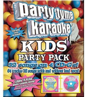 PARTY TYME KARAOKE: KIDS SONG PARTY PACK / VAR CD