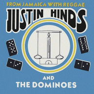 JUSTIN HINDS &  THE DOMINOES - FROM JAMAICA WITH REGGAE CD