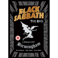 BLACK SABBATH - THE END (LIVE FROM THE GENTING ARENA, BIRMINGHAM, 2017) * DVD
